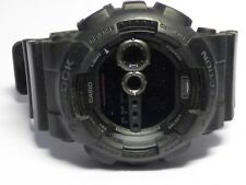 Authentic Casio G-Shock Men's Black Military Digital Watch GD100