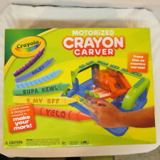 Crayola Crayon Carver Motorized carve words and designs on crayons New Unopened