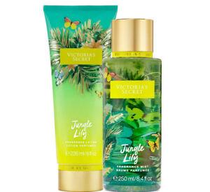 Victoria's Secret Jungle Lily Fragrance Lotion + Fragrance Mist Duo Set