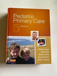 Pediatric Primary Care by Catherine G. Blosser, Margaret A. Brady, Nancy Barber