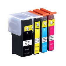 4 Pack 100XL Ink Cartridges for Lexmark Prevail Pro705 Prospect Pro205 Printer