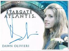 Stargate Collectable Trading Cards with Autographed