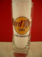 HRC hard rock cafe los angeles Classic logotipo Black Letter shot glass vasos de ginebra