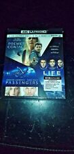 ARRIVAGE + PASSAGERS + Life 4K Ultra HD & BLU-RAY TRIPLE PACK NEUF & scellé