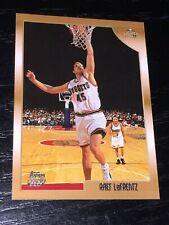 1998-99 Topps RAEF LAFRENTZ RC card #113 ~ Kansas / DENVER NUGGETS Rookie ~ F1