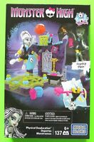 Mega Bloks Monster High Physical Deaducation Set with Frankie Stein Doll - NEW