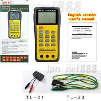 DER EE DE-5000 High Accuracy Handheld LCR Meter TL-21 TL-23 Set Tools New