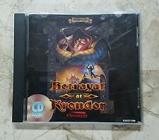 RARE Betrayal at Krondor PC GAME CD-Rom case & booklet only (PC, 1993)