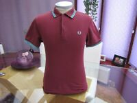 "Fred Perry XS Men's  Lovely  Polo  T-Shirt  -  38"" Chest"