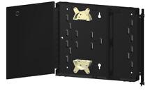Dual Door Wall Mount Fiber Optic Patch Panel (Enclosure) Holds 2 LGX Plates