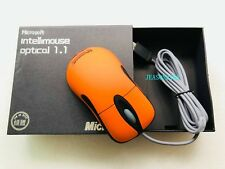 Microsoft l IntelliMouse Optical Io1.1/6000 frame IPS photoelectric mouse Orange