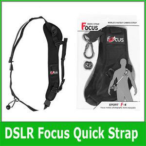 Focus F-1 Anti-Slip Quick Rapid Shoulder Sling Belt Neck Strap UK Seller