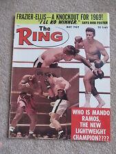 MAY 1969 RING MAGAZINE MANDO RAMOS   COVER