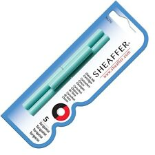 Sheaffer Fountain Pen Ink Cartridges Turquoise X 15