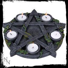 Pagan/Wiccan Pentacle Tea Light Holder 26cm