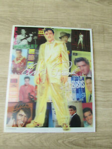 "Elvis Presley 3D Lenticular 8"" x 10"" Poster"