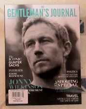 GENTLEMAN'S JOURNAL Fall 2015 JONNY WILKINSON Iconic GUNTER SACHS Shooting Spec