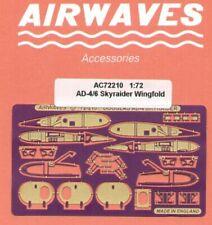 Airwaves 1/72 Skyraider Wing Fold Detailing Set # AEC72210