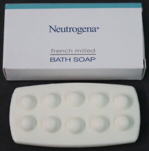 NEW 45-Pack x 1oz Bars Neutrogena French Milled Bath Soap Travel Size Hilton +++