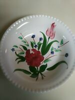 Blue Ridge Southern Potteries Bluebell Bouquet Hand Painted Berry Bowl
