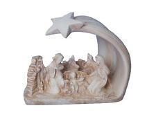Presepe Natività in Ceramica, Stella Cometa, Artigianato Artistico, Presepe