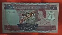 SOLOMON ISLANDS 10 DOLLARS  SPECIMEN - UNC