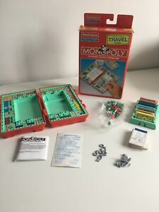 Monopoly | Travel Edition Board Game | Waddingtons | Preowned