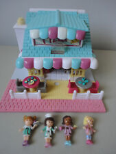 Vintage Polly Pocket Bluebird Lighted Pizzeria Pizza Place  - COMPLETE
