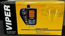 Viper Car Alarm Security Keyless Entry 2-Way Lcd Remote 3305V New Long Range