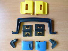 2 x SAVIC CLIPS/HINGES/HANDLE for FELICAT TOILETS, PET CADDY & TROTTER CARRIERS