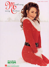 Mariah Carey Merry Christmas Learn to Play Pop ROCK PIANO Guitar PVG Music Book