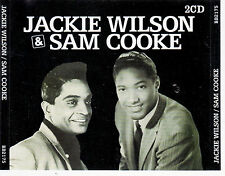 DOUBLE CD 28T JACKIE WILSON & SAM COOKE BEST OF 2006 DANS GROS BOITIER CRISTAL