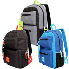 """Trailmaker Classic 19"""" Backpack 3-Compartment School Book Bag Boy Girl New"""