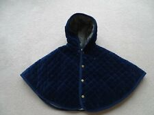 Ralph Lauren Baby Girl Quilted Winter  Poncho Coat Size 9 month