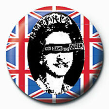 Sex Pistols God Save The Queen - Buttom Grösse Ø2,5 cm