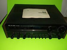 VINTAGE SAE TWO R6 R6B AM/FM STEREO RECEIVER (MADE IN JAPAN)