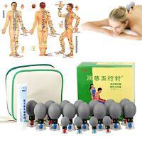 18 / 12 PCS 五行针 Magnetic Acupressure Suction Cup for Self Treatment Wu Xing Zhen