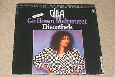 Gilla – Go Down Mainstreet / Discothek    1980   DISCO!!