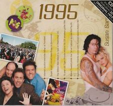 22nd Anniversary or Birthday gift ~ Hit Music CD from 1995 and Greeting Card