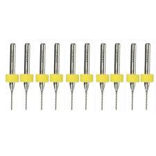 10Pcs 0.8mm Tiny Circuit PCB Board Carbide Micro Drill Twist Drill Bit Tool Kits