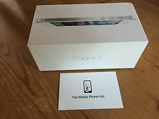 NEW Apple iPhone 5 16GB A1429 White & Silver (VODAFONE NETWORK) BOXED (UK MODEL)