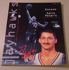 KU Jayhawk Basketball Program - Saint Peters Jan 15, 1996