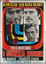 Le CERCLE ROUGE RED CIRCLE Italian 4F movie poster 55x79 ALAIN DELON MELVILLE