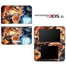 Vinyl Skin Decal Cover for Nintendo 3DS XL LL - Mortal Combat