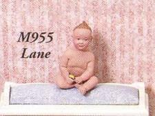 Lane Dollhouse People By Susan Scoggin Resin