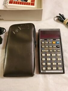 HP 34C Hewlett Packard Calculator with Original box parts and repair