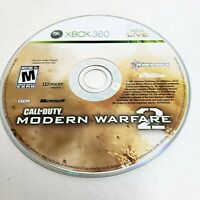 Xbox 360 Live Game CD Call of Duty Modern Warfare 2 Mature Rating 2009 Microsoft