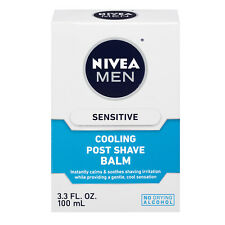 Nivea Men Sensitive Cooling Post Shave Balm 3.3 fl oz (100 ml): 3 packs