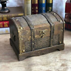 1pc Wooden Case Treasure Chest Wooden Trinket Box Without Lock for Girls