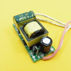 LED Driver 85-265V/24-47V AC/DC Power Supply 8-15x1W Constant Current 300mA